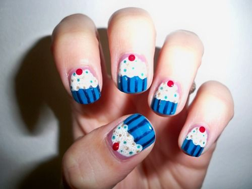 Fantastic cupcake nails