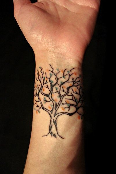 Tree tattoo design