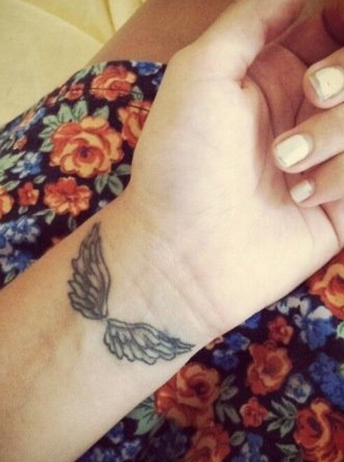 Wings on the wrist