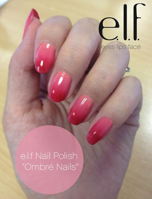 Light pink ombre pastels