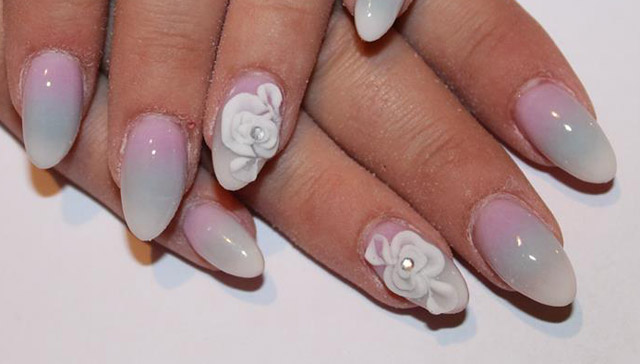 Ombre nails for summer nail designs