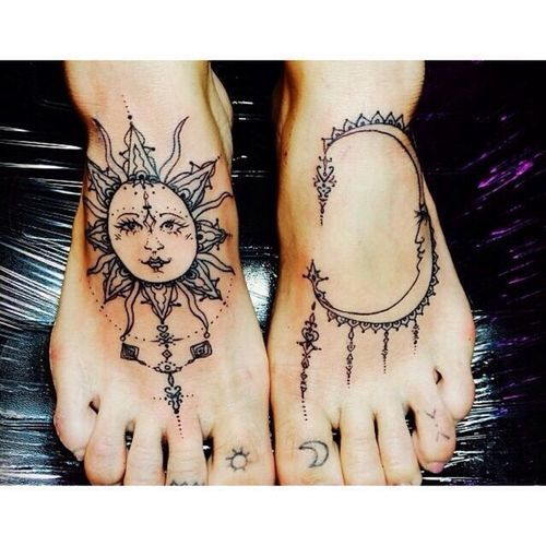 Nice foot tattoo