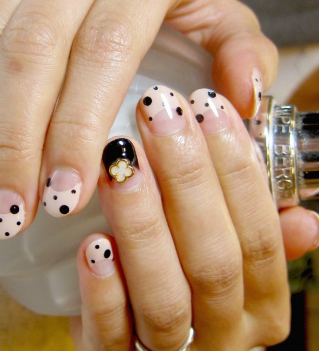 Nice decorated nails