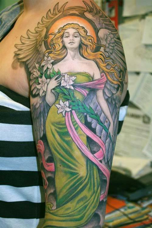 Angel on the arm