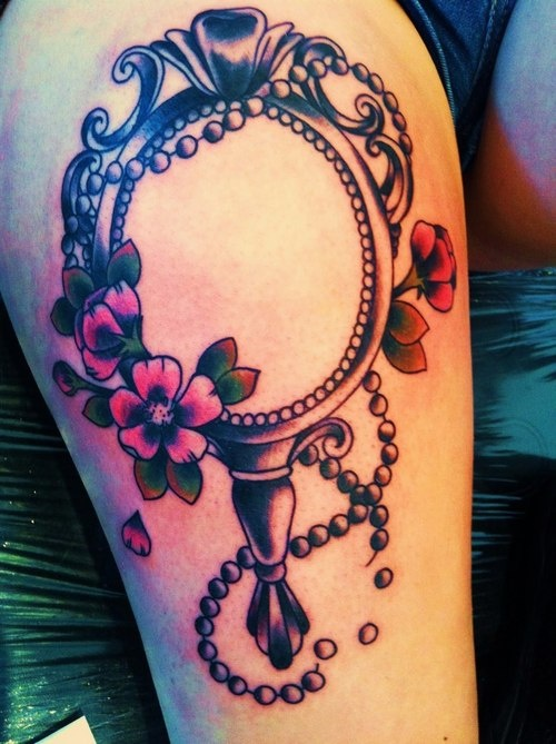 Mirror tattoo