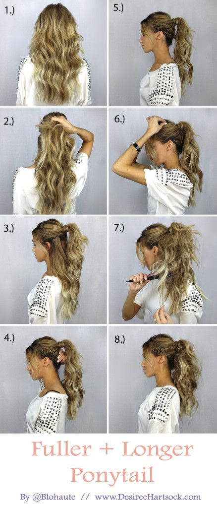 Full ponytail