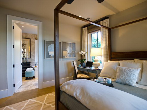 Design ideas for the master bedroom suite