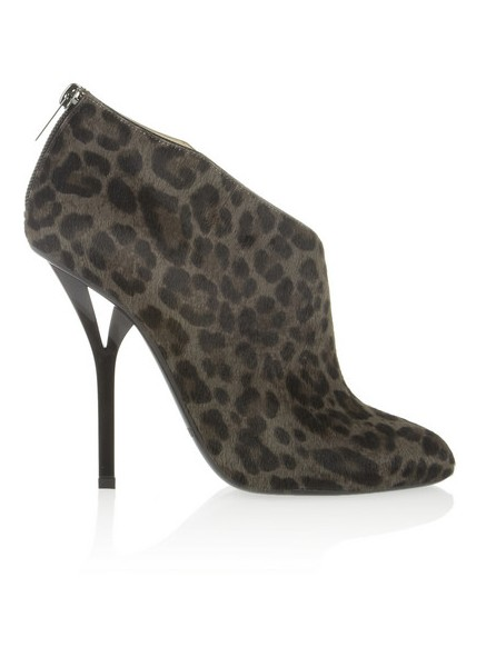 Jimmy Choo Lane ankle boots in leopard print calf hair