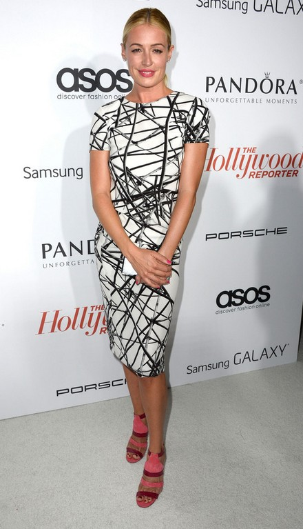 Strappy sandals from Cat Deeley