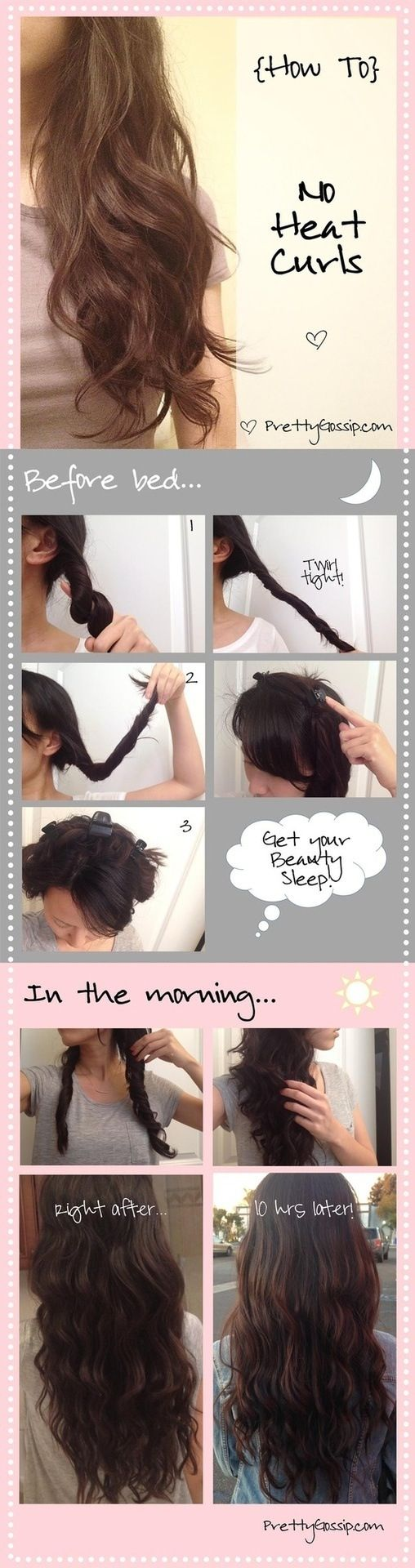 How-to-no-heat curls about