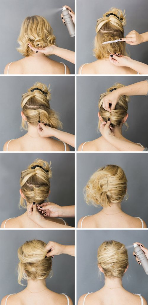 Updo over
