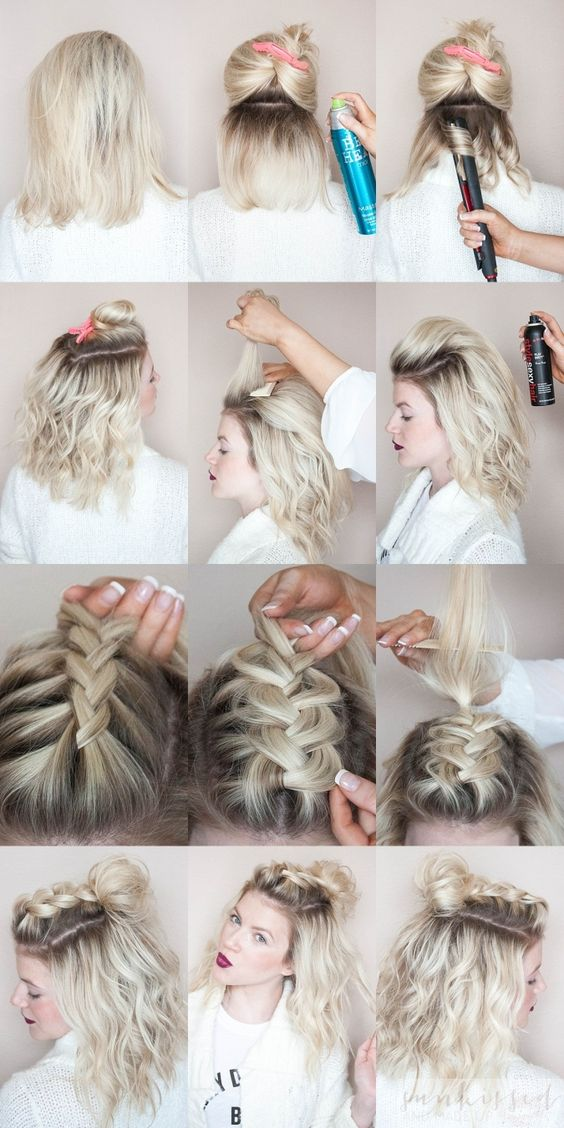 half knot over