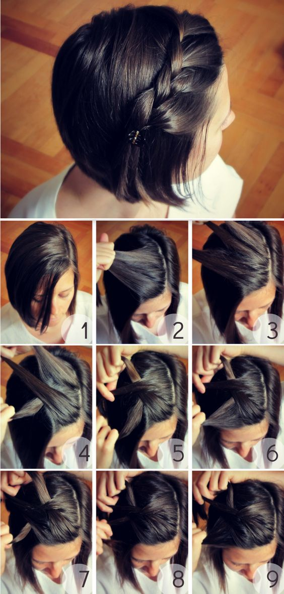 Short-bob-with-braided bangs over