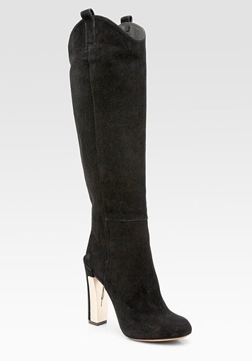 Paradis suede knee high boots ($ 600)