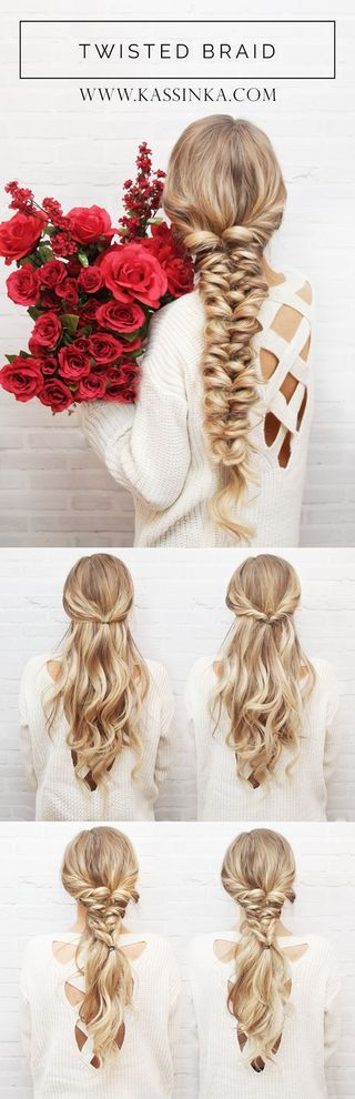 Twisted braid over
