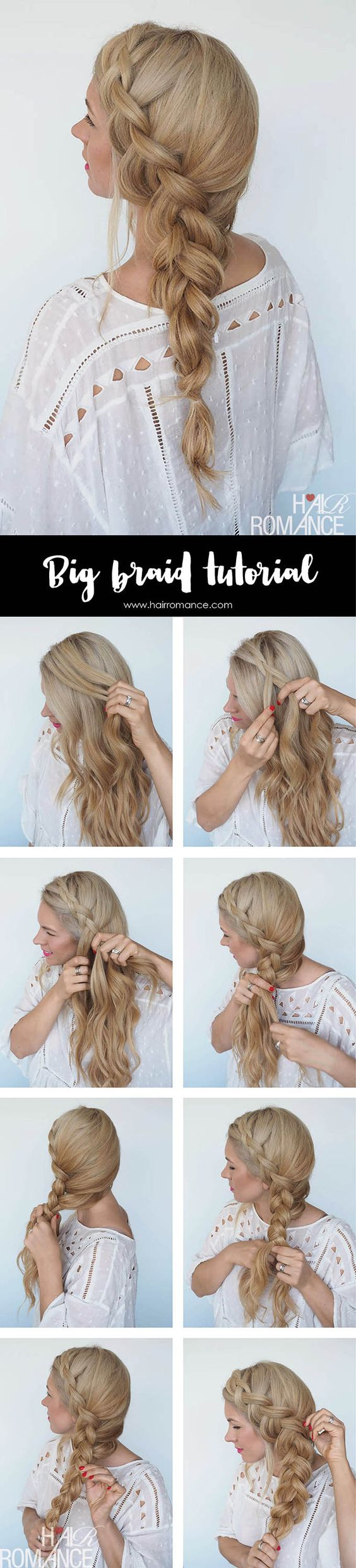 Side braid over