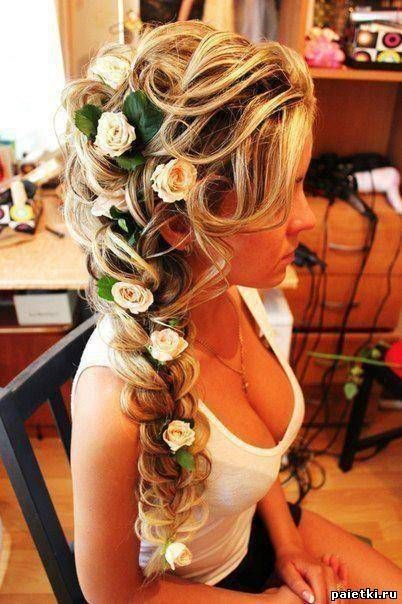 nicely braided over