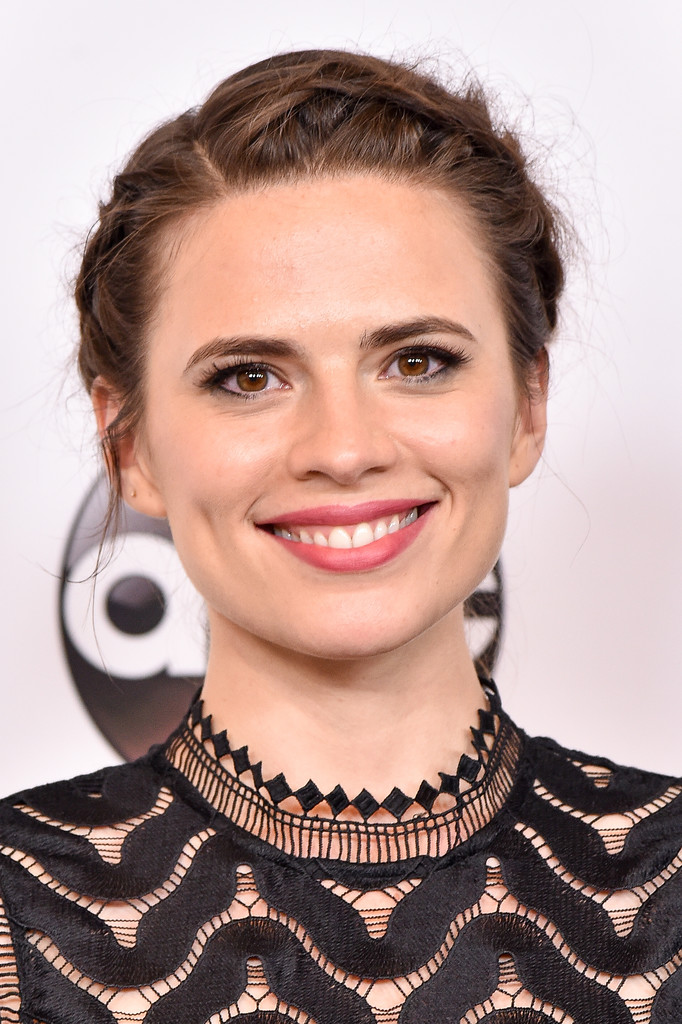 Hayley Atwell Crown Braid over
