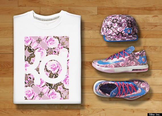 Nike KD VI Aunt Pearl Collection.