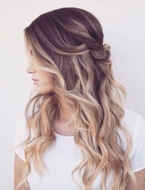 Ombre Waves over