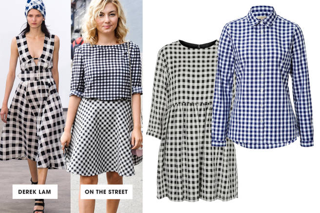 Top 10 trends for this season: Going Gingham