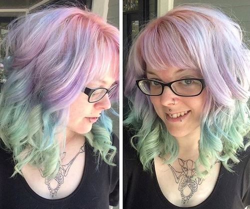 20 cheeky blue hair colors and styles - best blue hairstyles