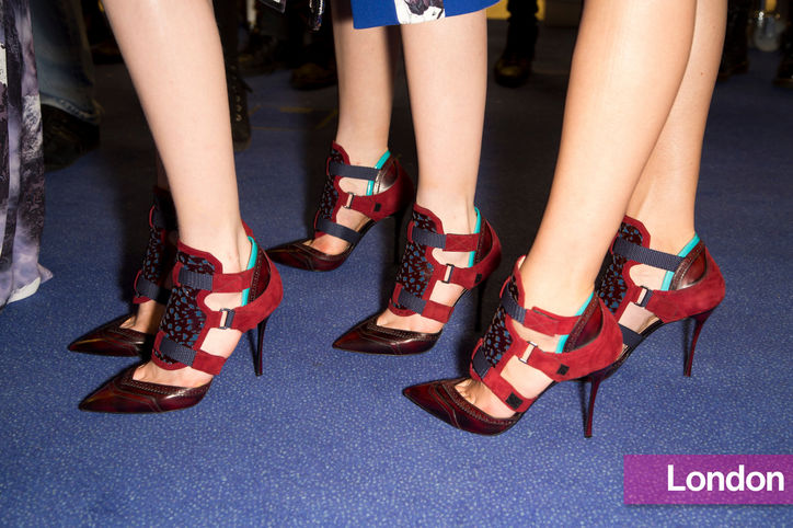 Stylish shoe trend for New York Fashion Week: Peter Pilottos pumps with three straps