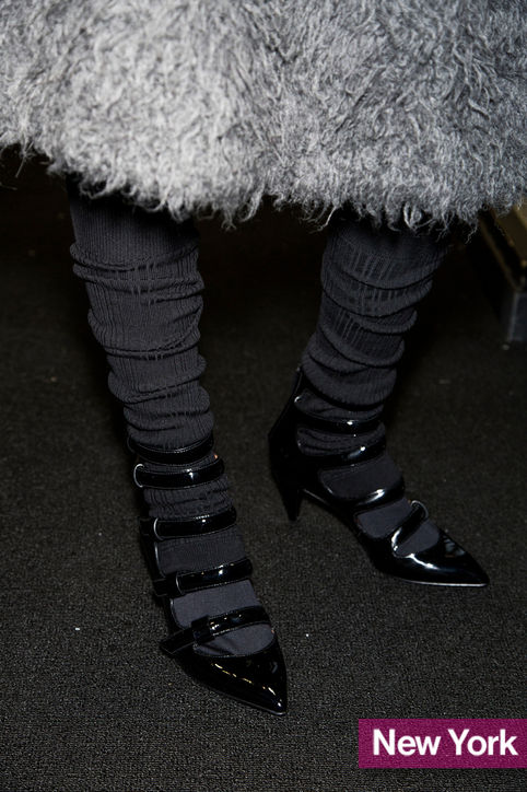 Stylish shoe trend for New York Fashion Week: Marc by Marc Jacobs & # 39; Multistrap Mary Janes