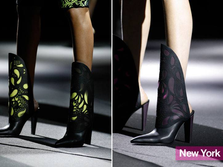 Stylish shoe trend for New York Fashion Week: Alexander Wang's backless boots