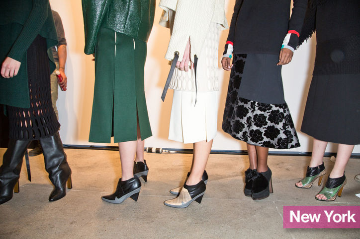 Stylish shoe trend for New York Fashion Week: Derek Lam's cone heel ankle boots
