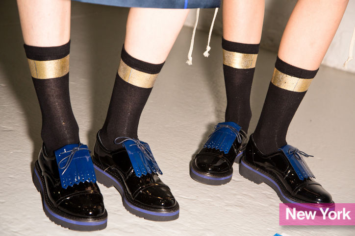 Stylish shoe trend for New York Fashion Week: Sunos Brogues