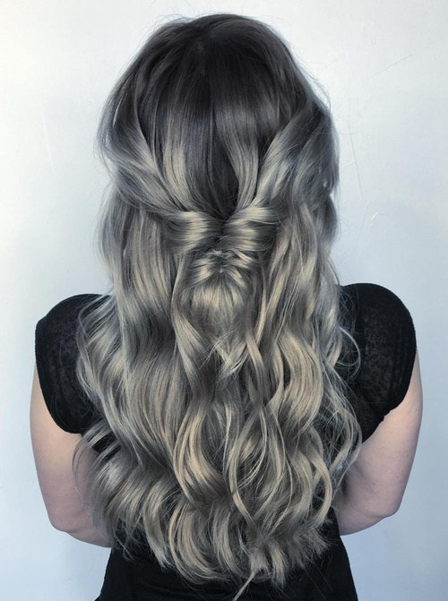 Mermaid splinter hair