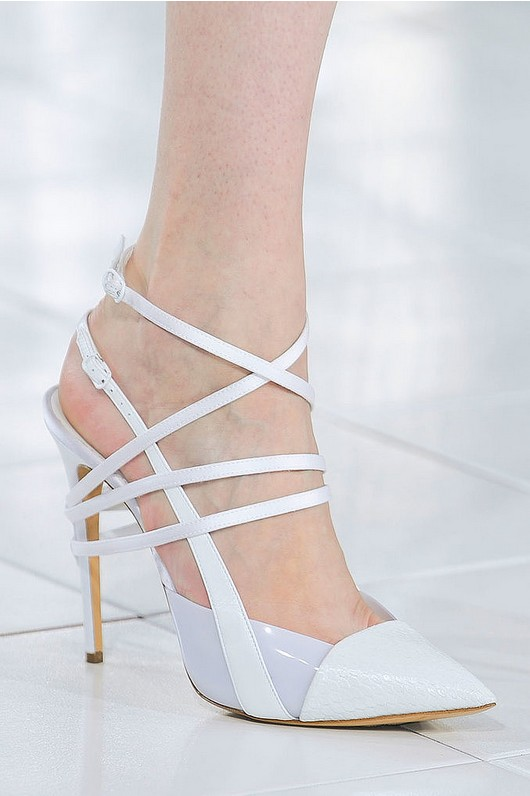 Ankle belt pumps - Prabal Gurung spring 2014