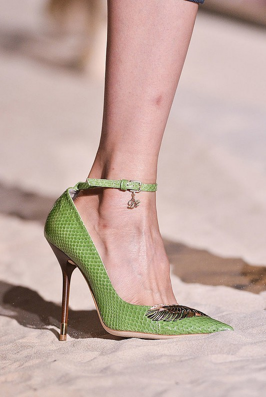 Ankle belt pumps - Dior Spring 2014