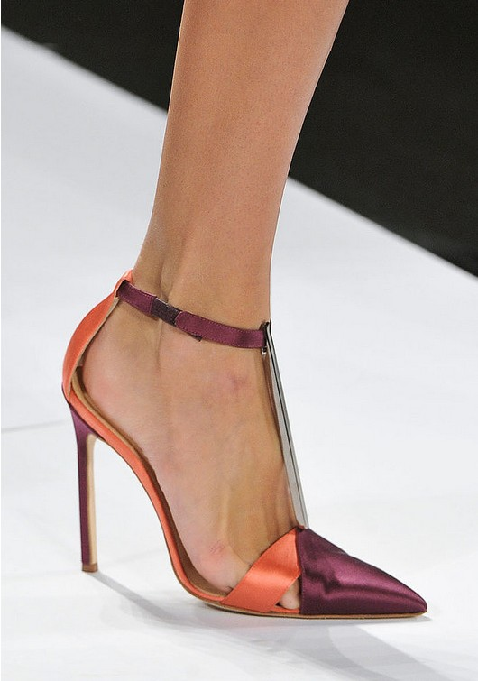 Ankle Belt Pumps - Carolina Herrera Spring 2014