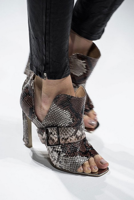 Summer Booties - Salvatore Ferragamo Spring 2014