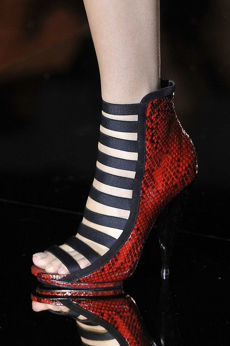 Summer boots - Gucci spring 2014