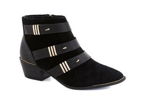 The Dark Night Bootie in black