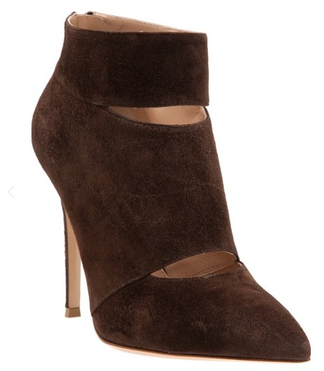 GIANVITO ROSSI & # 39; Camoscio & # 39; Ankle boots, brown