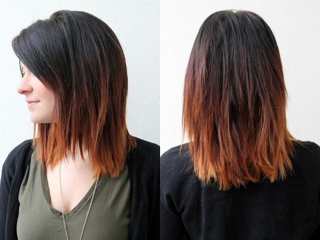 Ombre praise hairstyle
