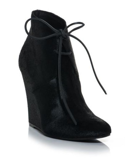 Burberry Prorsum Benton wedge ankle boots in calf leather