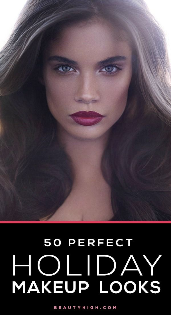 Perfect vacation makeup and hairstyle idea
