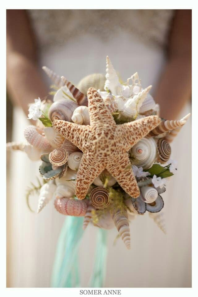 Ocean themed bouquet