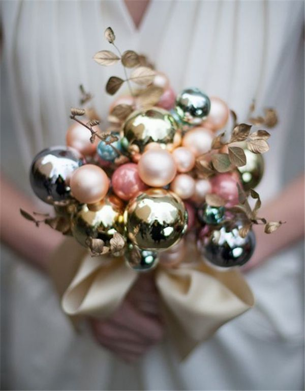Adorable wedding bouquet