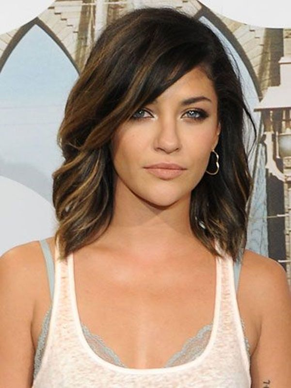 Beautiful shoulder length hairstyle