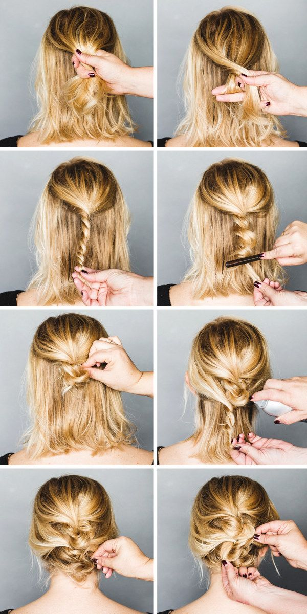 Chaotic updo