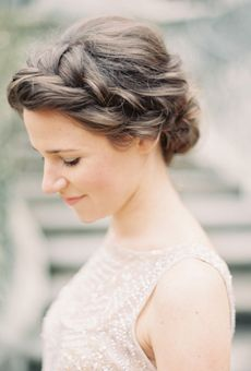 Elegant crown braid