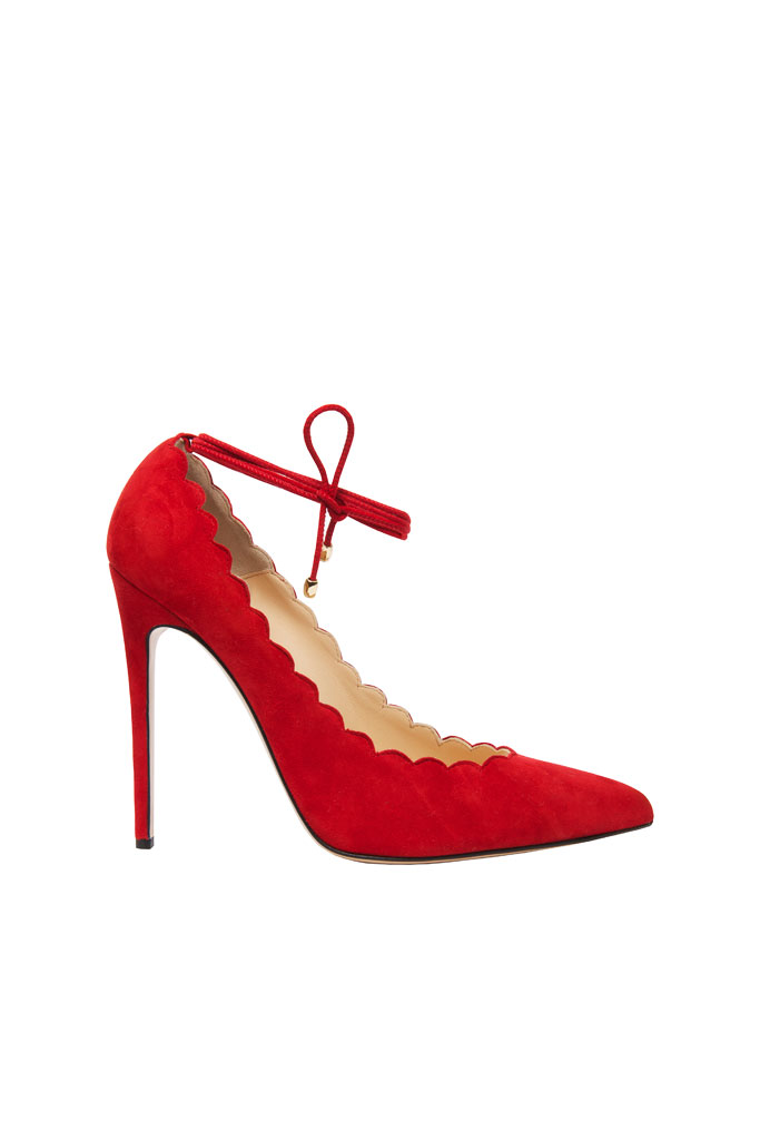 Spring 2014 Bionda Castana pumps, red
