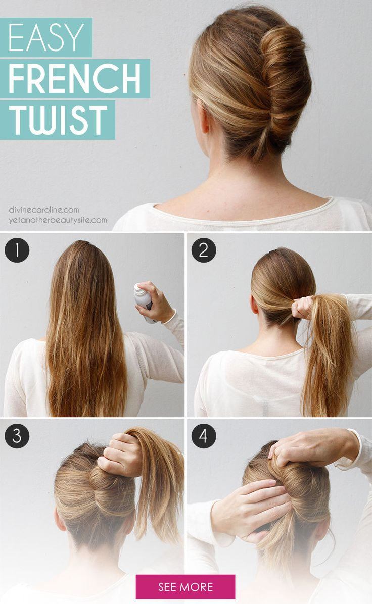 Simple french braid hairstyle tutorial