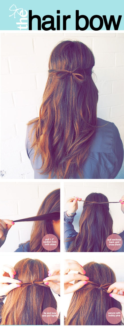 Boho-chic hairstyle tutorial